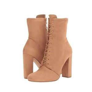Steve Madden Elley Suede High Top Ankle Bootie 8.5